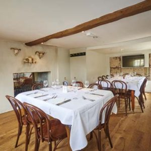 Private dining room Cambridge